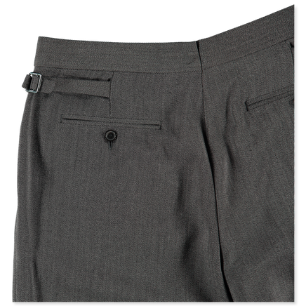 Wool Twill Trouser