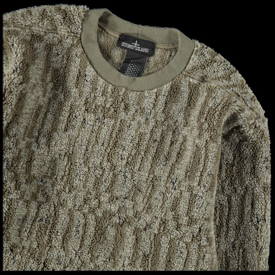 Jaquard GD Teddy Sweatshirt - 711960507 - V0054