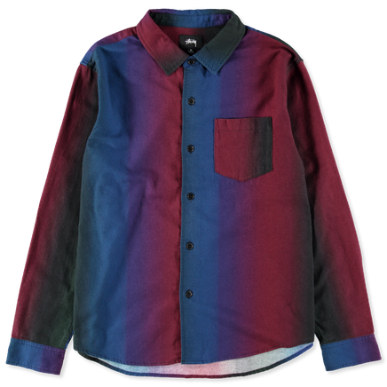 Graduated Color L/S Shirt