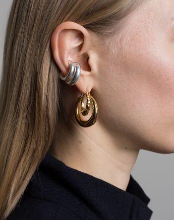 Fat Snake Polished Earrings
