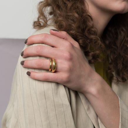 Fat Snake Polished Ring
