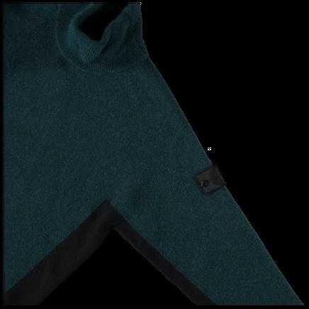 Contrast Mock Neck Knit - 7119503D2 - V0029
