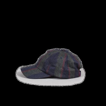 Military Wool/Cash Stripe Cap