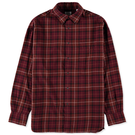 Macro Lt Flannel Checked Shirt