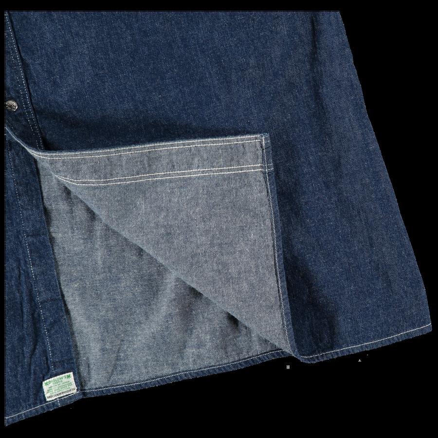 Stand Collar Long Sleeve Shirt