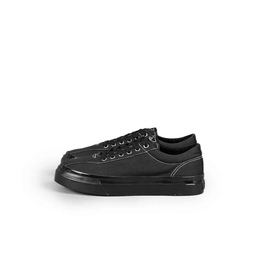 Dellow Canvas Trainer Black