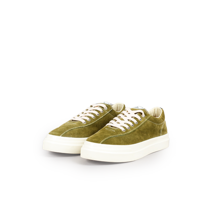 Dellow Suede Trainer Military