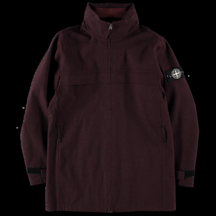 Tank Shield Wool Jacket - 711542934 - V0011