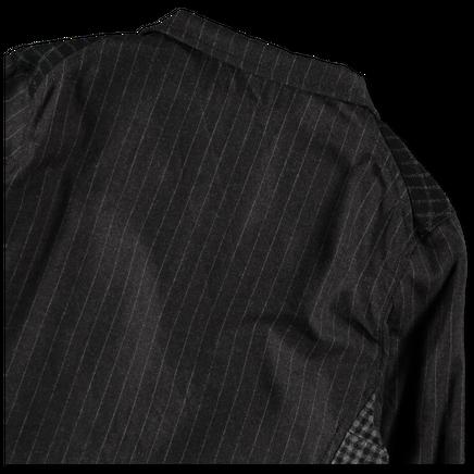 Wool Patchwork Suit Jacket