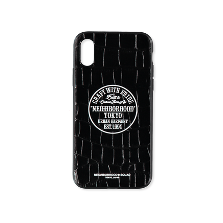 Black Cow iPhone Case