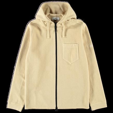 Gauzed Co/Ny Fleece Zip Hoodie - 711562940 - V0091