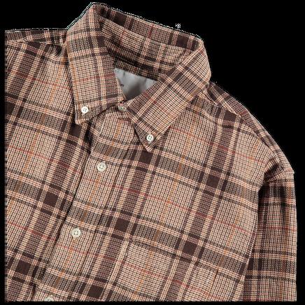 Loose Weave Plaid BD Shirt