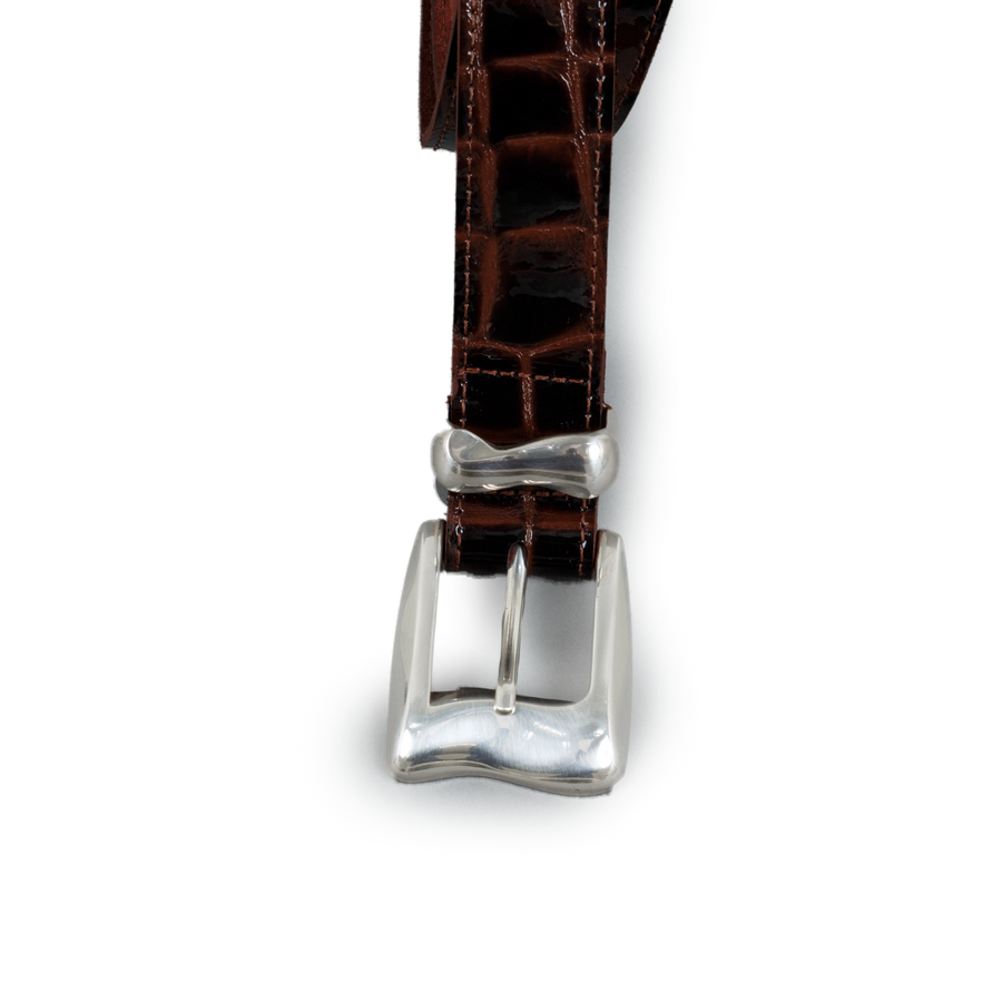 Wave Belt Croc