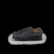 Solovair 7-Eyelet Monkey Shoe - Black