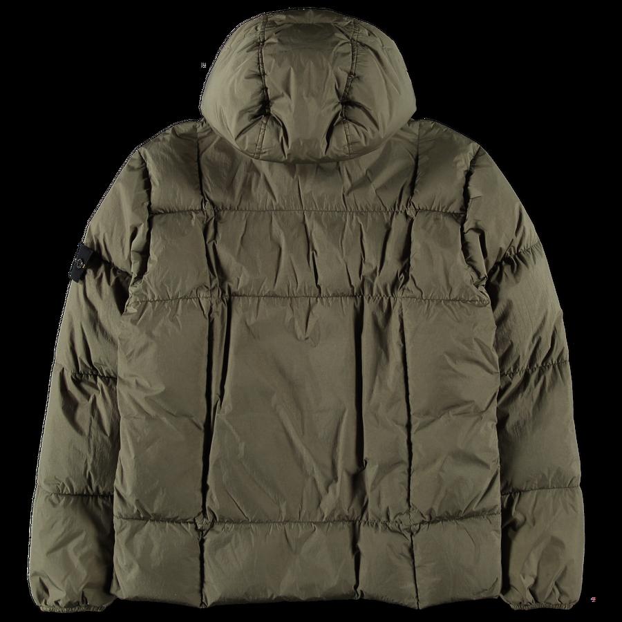 Crinkle Reps GD Down Hooded Jacket - 711540223 - V0058