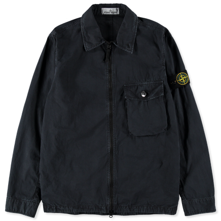 Old Effect Canvas Overshirt - 7215114WN - V0120