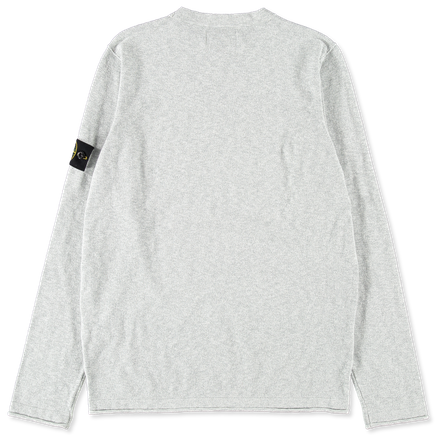 Light Melange Knit Co/Ny Sweater - 7215502B0 - V1061