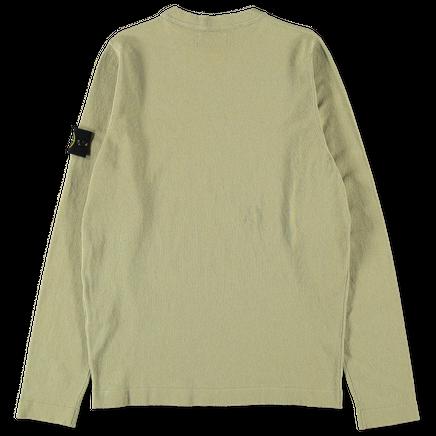 Light Raw Cotton Knit Sweater - 7215532B9 - V0098