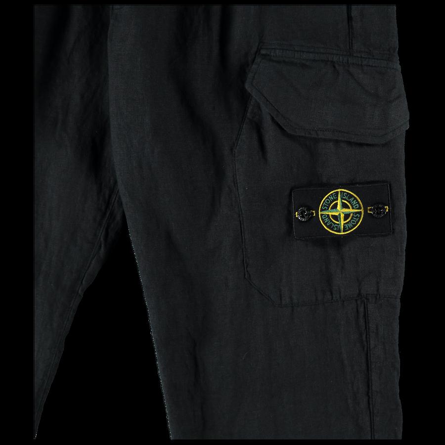Linen Cargo Pant - 721531101 - V0020