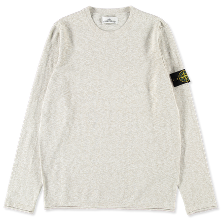 Light Melange Knit Co/Ny Sweater - 7215502B0 - V1098