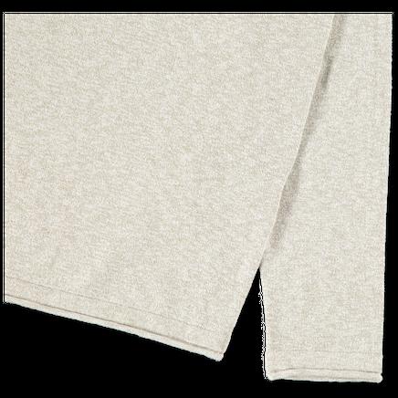 Light Melange Knit Co/Ny Sweater - 7215502B0 - V1098