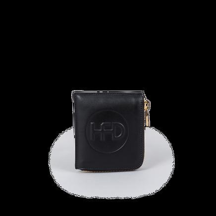 USB-Pocket Half Zip Wallet