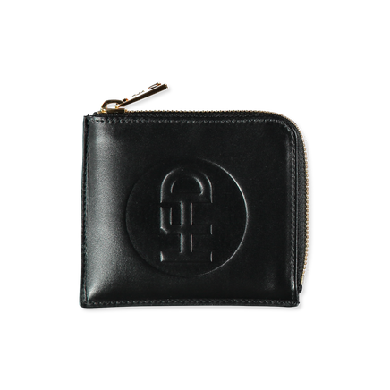 USB-Pocket Half Zip Wallet
