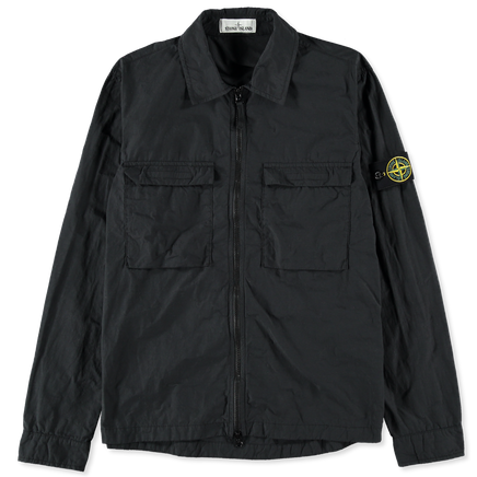 Naslan Light Zip Overshirt - 721511102 - V0029