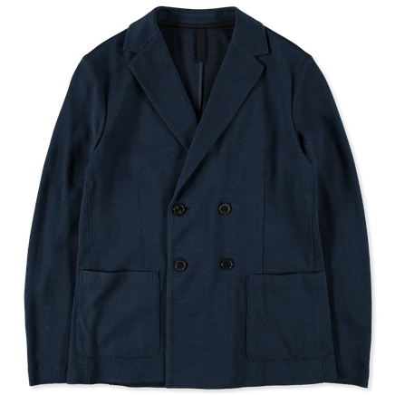 D. Breasted Rice Stitch Jacket