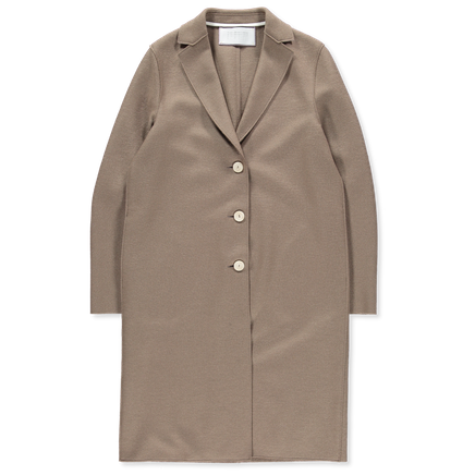 Bicolour Light Pressed Overcoat