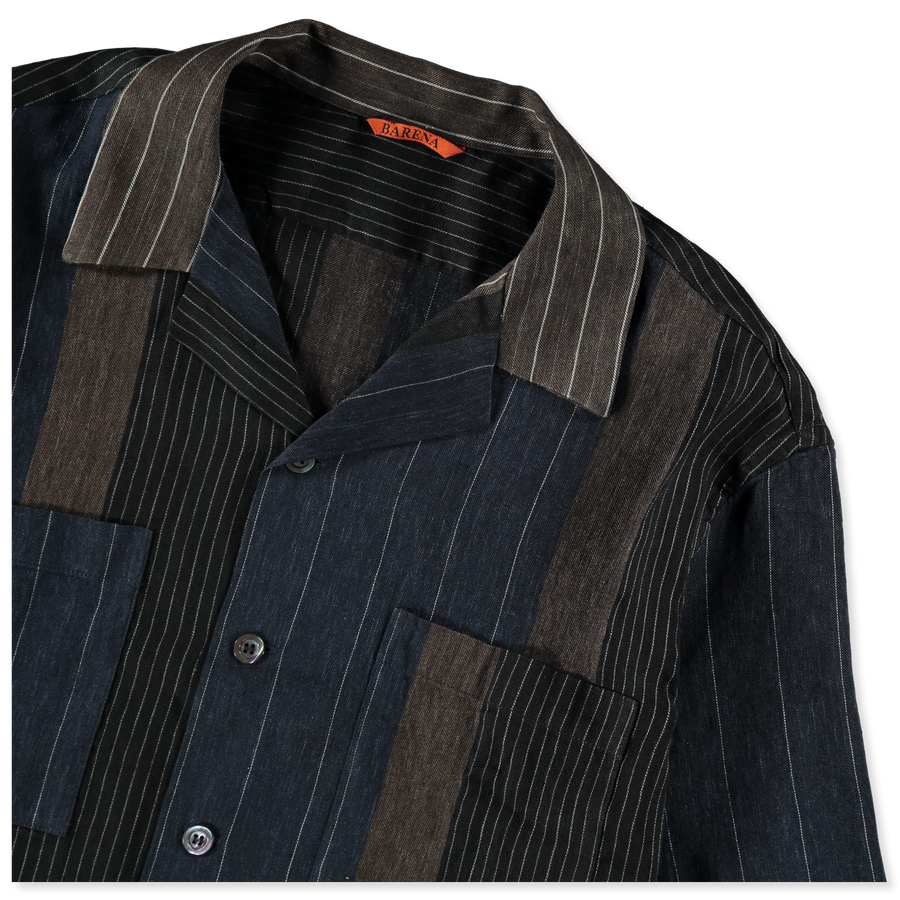 Solana Gianto Mix Stripe S/S Shirt