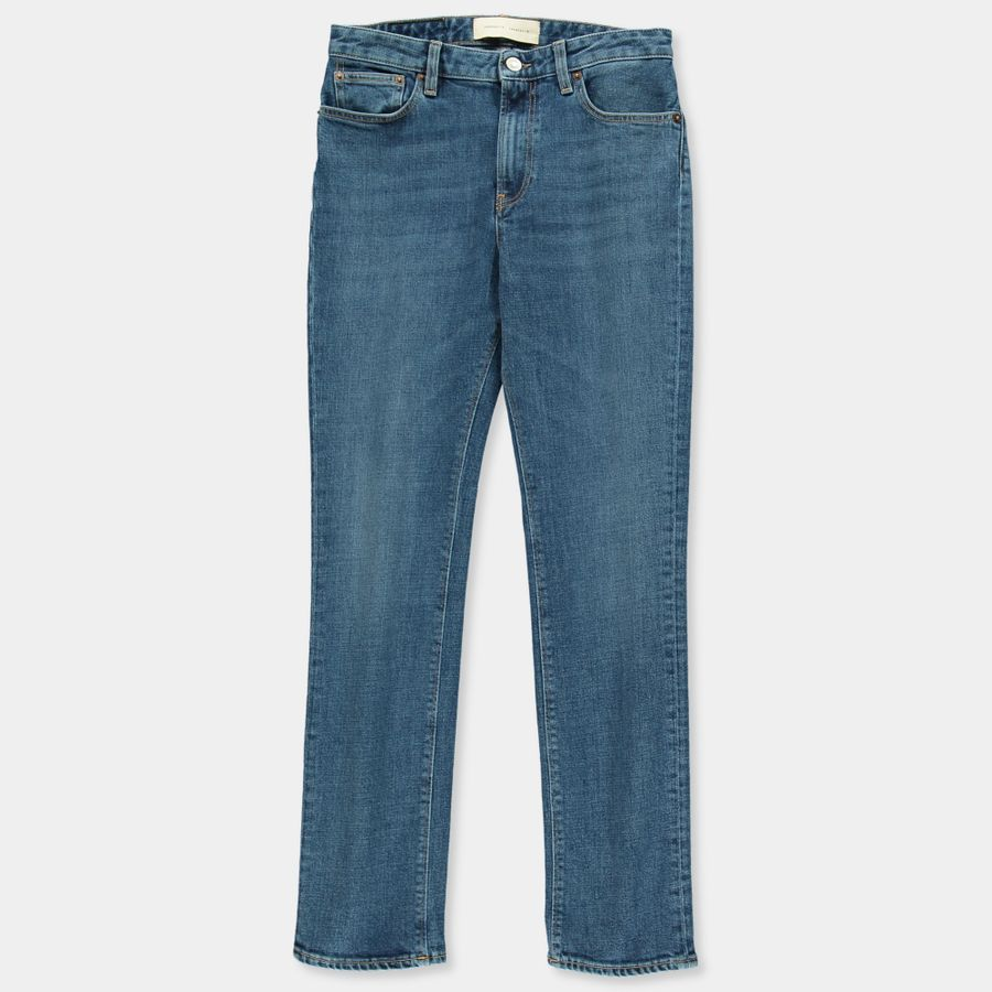 W' Highwaist Straight 5P Jeans
