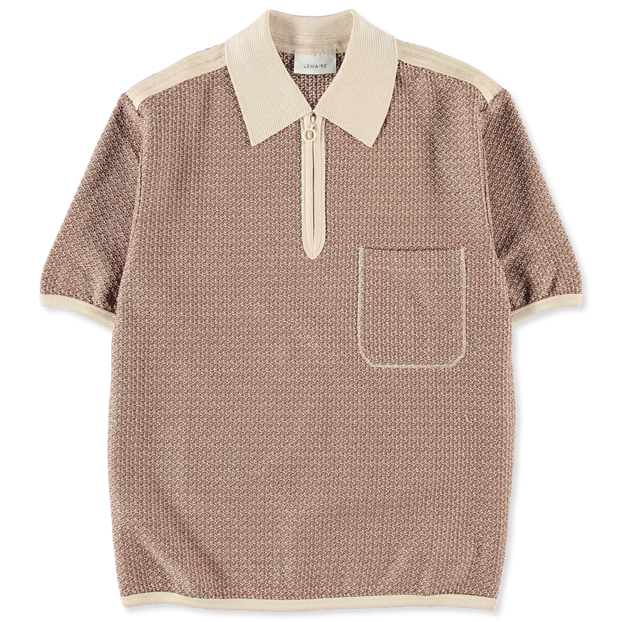 Knitted Jersey Polo