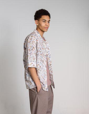 Convertible Collar Shirt