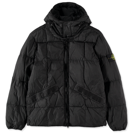 Crinkle Reps GD Down Hood Jacket - 711540223 - V0029