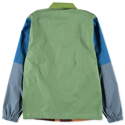 Poplin Coaches Mix Jacket