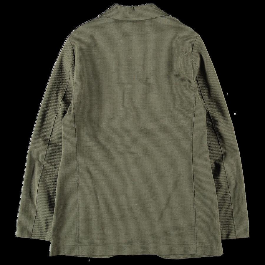 Boxy Seersucker Jacket