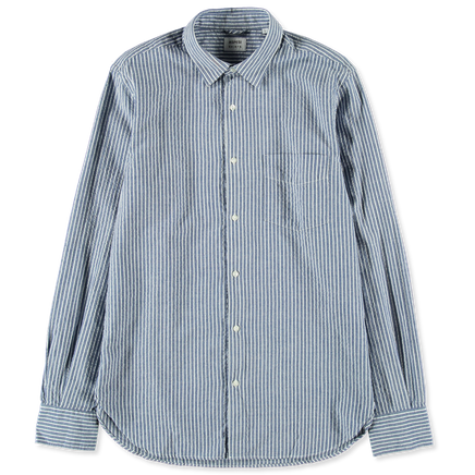 Ridotta Seersucker Stripe Shirt