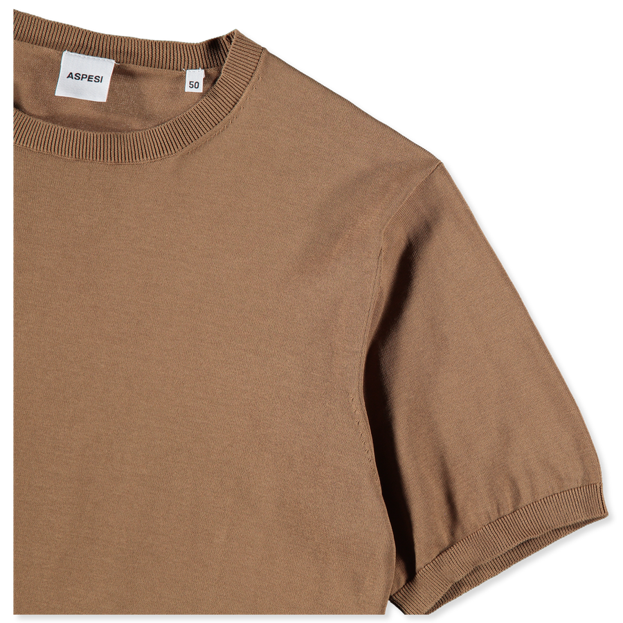 Knitted S/S T-Shirt