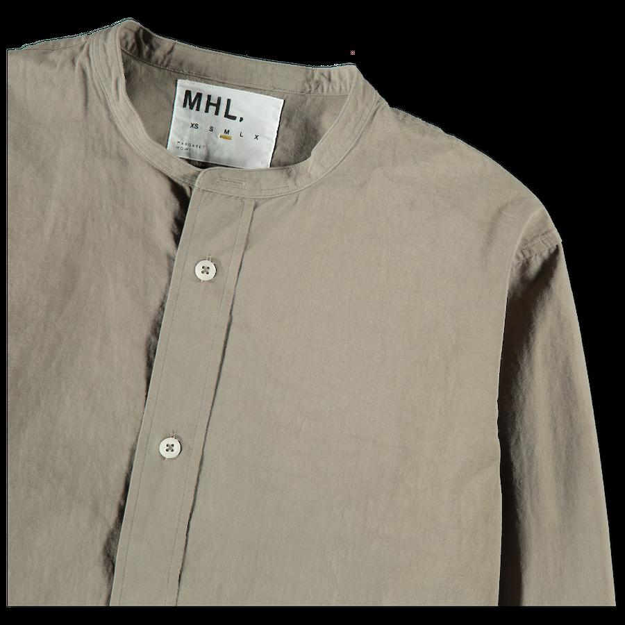 MHL Collarless Shirt