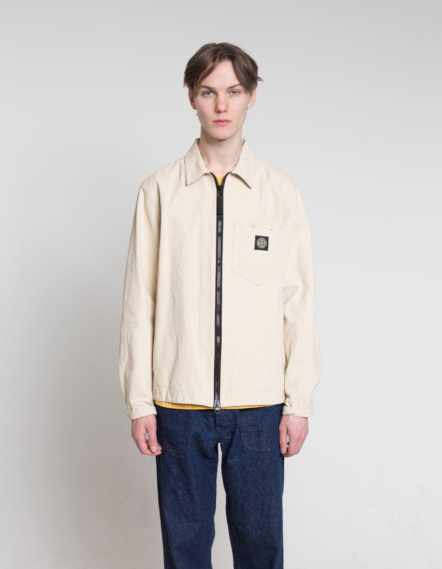 Panama Placcato Zip Shirt - 7215106J1 - V0090
