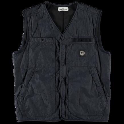 Nylon Seersucker TC Vest - 7215G0229 - V0020