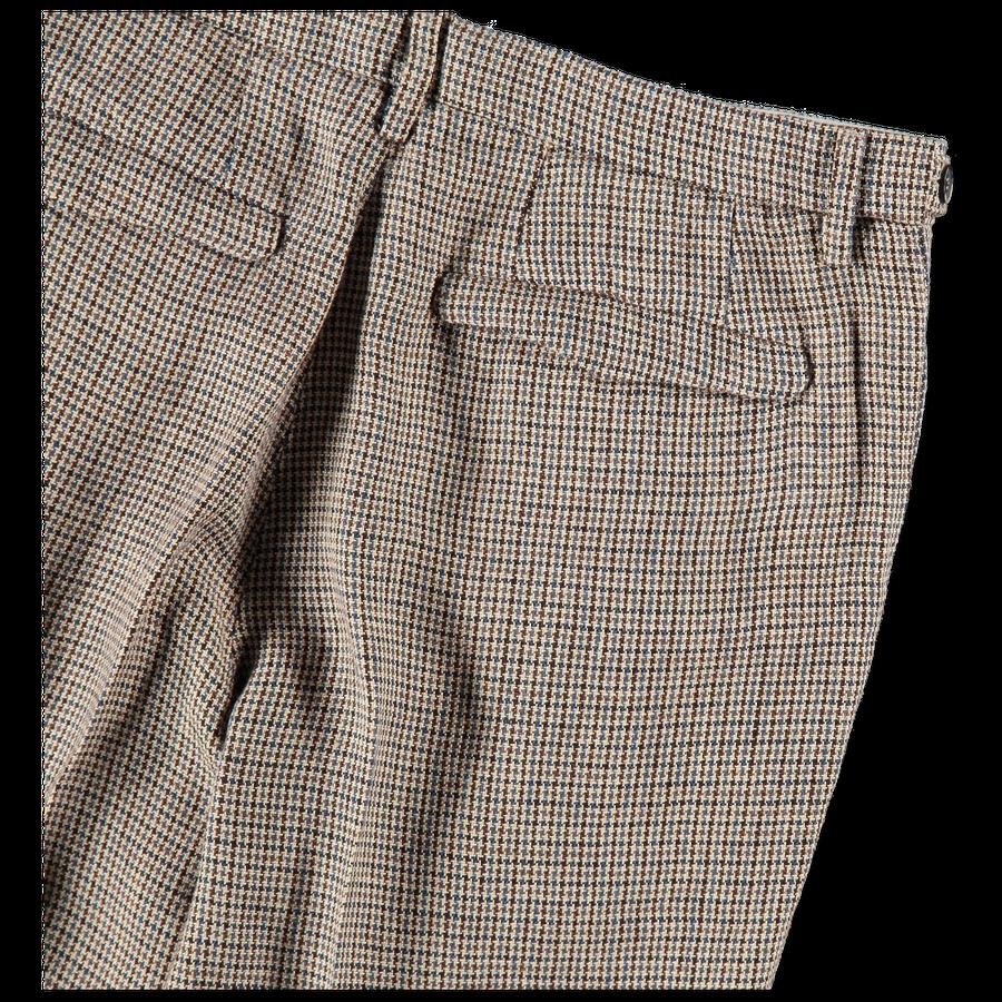 Masco Pie Pleated Linen Trousers