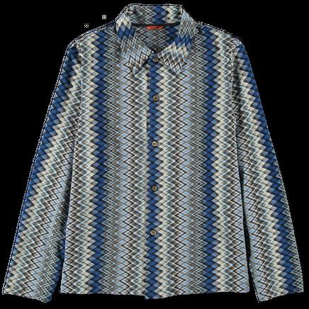 Roncola Surio Button Pattern Cardigan