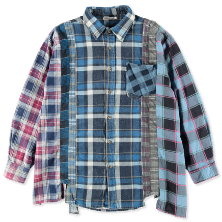 Rebuild Flannel Wide 7 Cuts Shirt