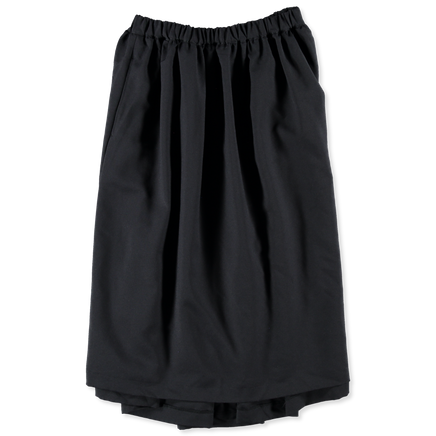 Garment Washed Twill Skirt