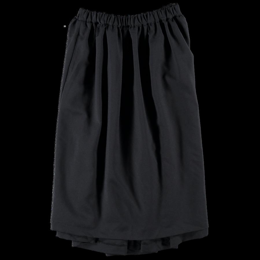 Garment Washed Twill Skirt