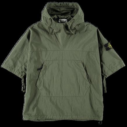 S/S Cotton Nylon Hooded Overshirt - 721512208 - V0158