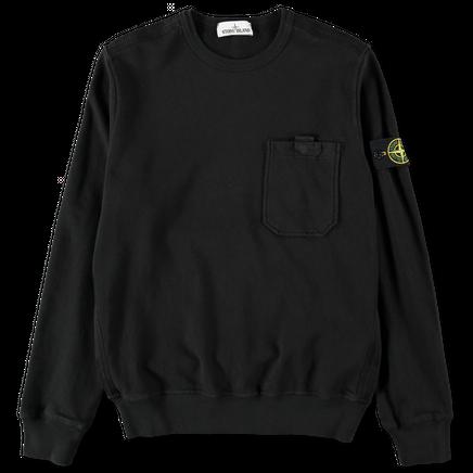 Pocket Old Effect Sweatshirt - 721563560 - V0029