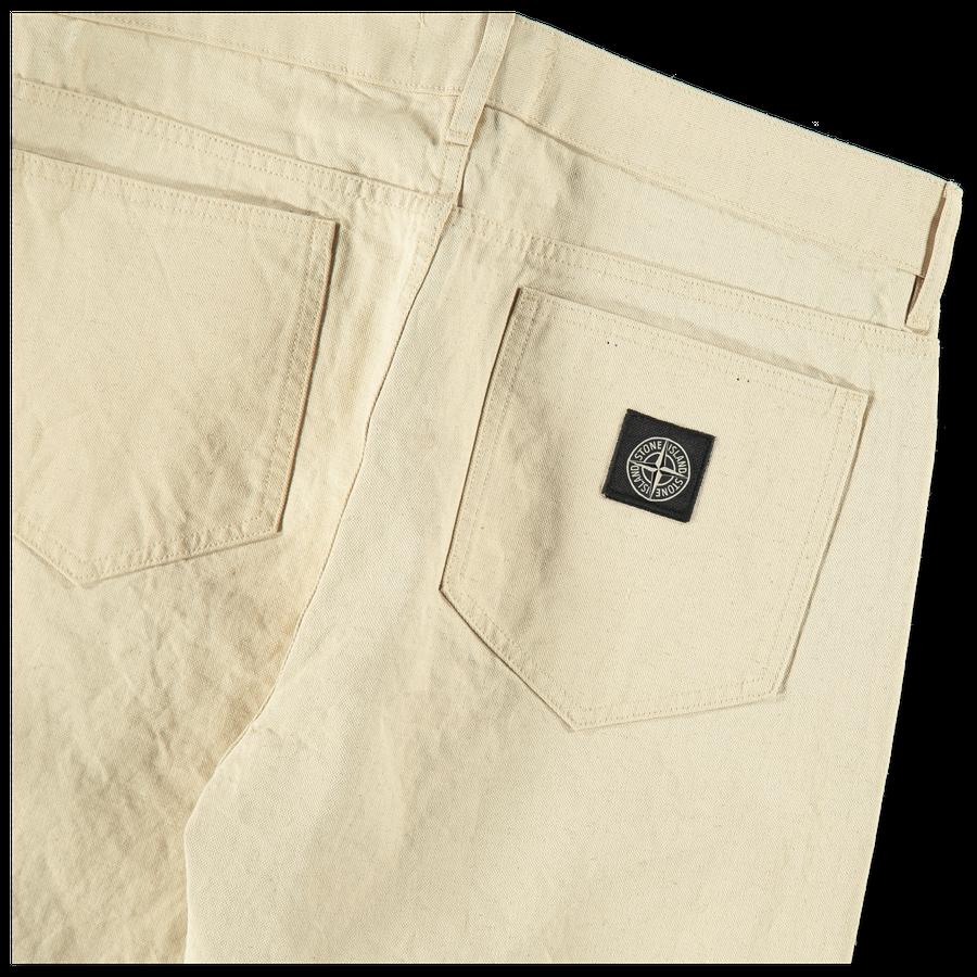 Panama Placcato 5P Pants - 7215J02J1 - V0090